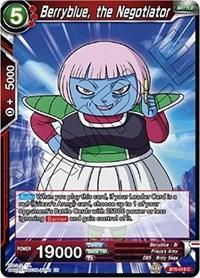 dragonball super card game bt6 destroyer kings berryblue the negotiator bt6 019