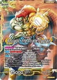 dragonball super card game bt6 destroyer kings boujack boujack the pirate captain bt6 080 foil