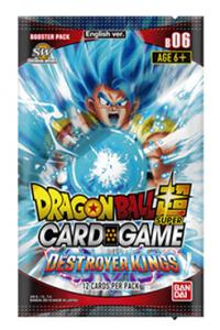 dragonball super card game dragonball super sealed product destroyer kings booster pack