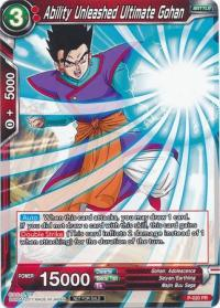 dragonball super card game dragonball super promos ability unleashed ultimate gohan p 020 promo