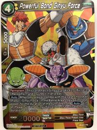 dragonball super card game dragonball super promos powerful bond ginyu force p 024 pr