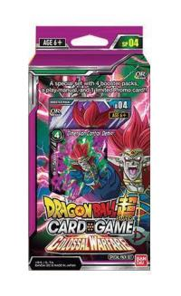 dragonball super card game dragonball super sealed product colossal warfare special pack set