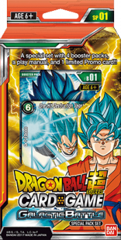 dragonball super card game dragonball super sealed product galactic battle special pack set
