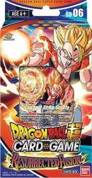dragonball super card game dragonball super sealed product starter deck 6 resurrected fusion