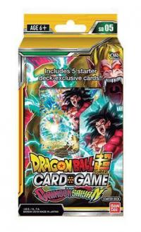 dragonball super card game dragonball super sealed product starter deck 5 the crimson saiyan