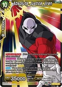 dragonball super card game tb1 tournament of power absolute justice jiren tb1 081