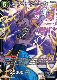 dragonball super card game tb1 tournament of power beerus universe 7 divine vanquisher tb1 030