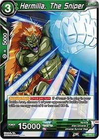 dragonball super card game tb1 tournament of power hermilla the sniper tb1 066