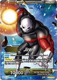 dragonball super card game tb1 tournament of power jiren jiren the ultimate warrior tb1 074