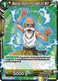dragonball super card game tb1 tournament of power master roshi forged of will tb1 076 foil