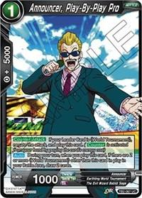 dragonball super card game tb2 world martial arts tournament announcer play by play pro tb2 067 foil