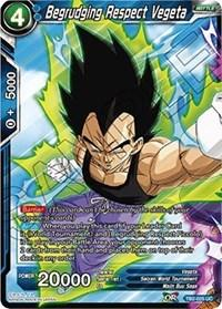 dragonball super card game tb2 world martial arts tournament begrudging respect vegeta tb2 025 foil