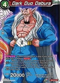 dragonball super card game tb2 world martial arts tournament dark duo dabura tb2 014