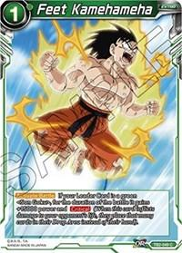 dragonball super card game tb2 world martial arts tournament feet kamehameha tb2 049