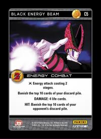 dragonball z awakening black energy beam