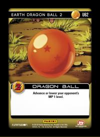 dragonball z awakening earth dragon ball 2 foil