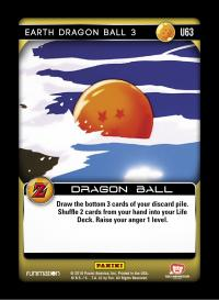 dragonball z awakening earth dragon ball 3 foil
