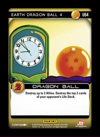 dragonball z awakening earth dragon ball 4 foil