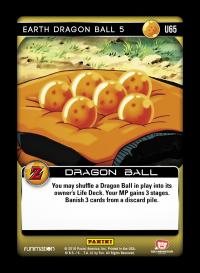 dragonball z awakening earth dragon ball 5 foil