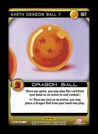 dragonball z awakening earth dragon ball 7 foil