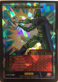 dragonball z awakening attack table foil cell