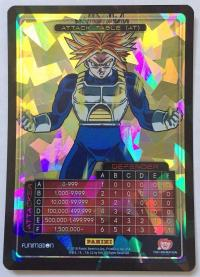 dragonball z awakening attack table foil trunks