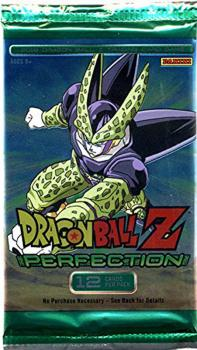 dragonball z dbz sealed product dbz panini perfection booster pack