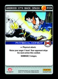 dragonball z evolution android 17 s back smash