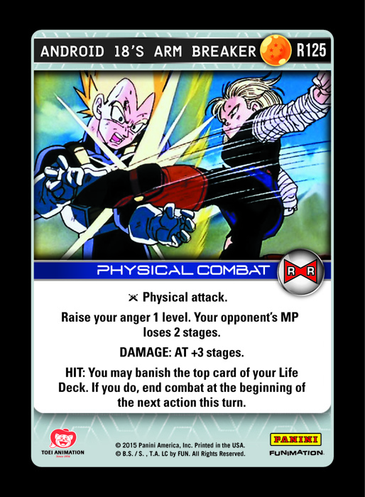 Android 18's Arm Breaker