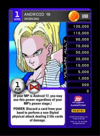 dragonball z evolution android 18 smirking