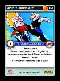 dragonball z evolution android superiority foil