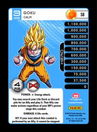 dragonball z evolution goku calm foil