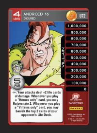 dragonball z perfection android 16 injured
