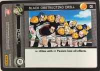 dragonball z perfection black obstructing drill