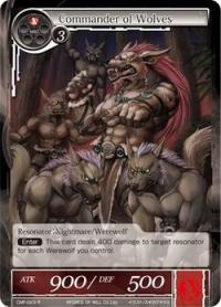 force of will crimson moons fairy tale commander of wolves