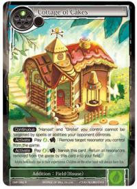 force of will crimson moons fairy tale cottage of cakes