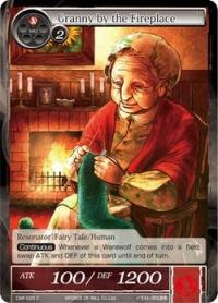 force of will crimson moons fairy tale granny by the fireplace