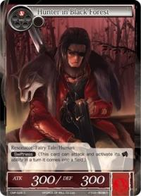 force of will crimson moons fairy tale hunter in black forest