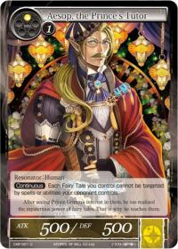 force of will crimson moons fairy tale aesop the prince s tutor