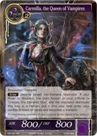 force of will crimson moons fairy tale carmilla the queen of vampires
