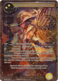 force of will the milennia of ages zero the flashing mage warrior full art