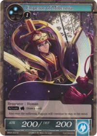 force of will the milennia of ages emperor of millennia foil