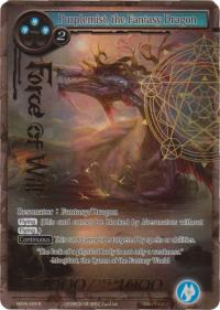 force of will the milennia of ages purplemist the fantasy dragon full art
