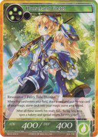 force of will the milennia of ages hansel and gretel foil