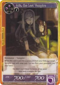 force of will the milennia of ages aria the last vampire