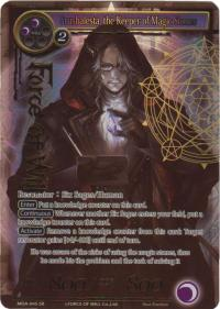 force of will the milennia of ages grusbalesta the keeper of magic stones full art