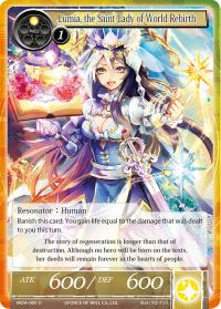 force of will the milennia of ages lumia the saint lady of world rebirth