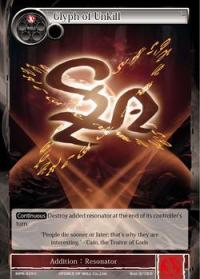 force of will the moon priestess returns glyph of unkill