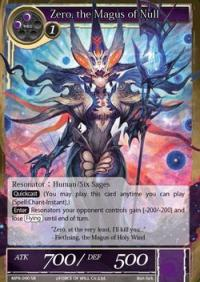force of will the moon priestess returns zero the magus of null
