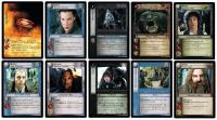 lotr tcg fellowship of the ring foils fellowship of the ring complete 365 card foil set ultra rare